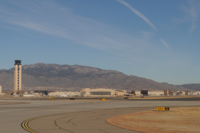 Albuquerque International Sunport serves Albuquerque metropolitan area: Albuquerque, Santa Fe and Las Vegas.